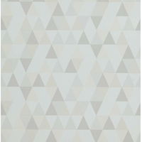 Papier peint intissé TRIANGLES beige/écru
