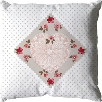 Coussin SO ROMANTIC 40x40cm