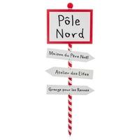 Pancarte Pôle Nord
