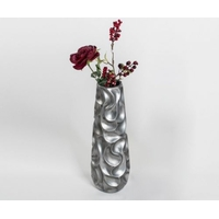 Vase vague antique silver 57cm