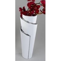 Vase de fleurs en céramique EDELWEISS H.26 cm