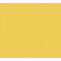 Papier peint intissé uni jaune