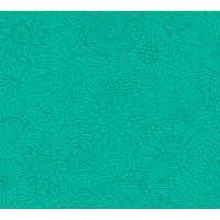 Papier peint intissé MANDALA vert