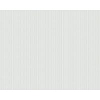 Papier peint expansé intissé FINE RAYURE blanc