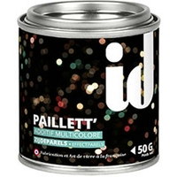 Additif peinture ID 'Paillett' multicolore