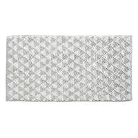 Tapis COOPER gris/blanc 60x120cm
