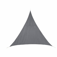 Voile d'ombrage CURACAO 2x2x2 Gris