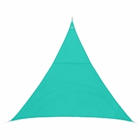 Voile d'ombrage CURACAO 2x2x2 Emeraude