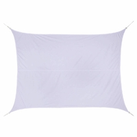 Voile d'ombrage CURACAO 3x4 Blanc