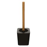 Brosse WC noir/bambou NATUREO