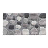 Tapis de bain GALET gris 60x120cm