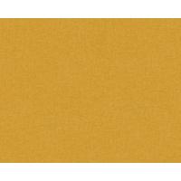 Papier peint expansé uni jaune moutarde