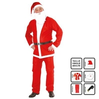 Tenue père Noël adulte - Taille unique