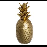 Boîte ananas doré LIVING