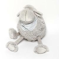 Peluche Fify mouton foulard gris