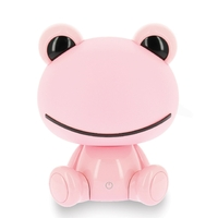 Lampe veilleuse FROGGY rose