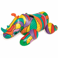 Rhinocéros Gonflable Pop Art