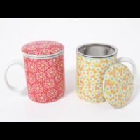 Coffret 2 mugs filtre + couvercle FIORI