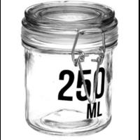 Bocal en verre capacité 250ml