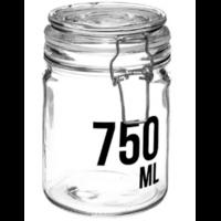 Bocal en verre capacité 750ml