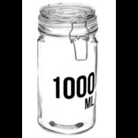 Bocal en verre capacité 1000ML