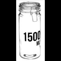 Bocal en verre capacité 1500ml