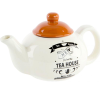 Théière céramique TEA HOUSE camel