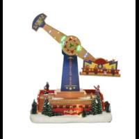 Grand manège animé de Noël
