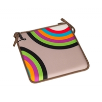 Galette de chaise RAINBOW multicolore