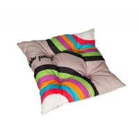 Coussin de chaise RAINBOW multicolore