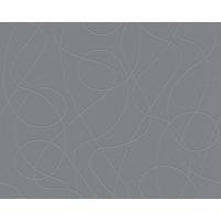 Papier peint intissé serpentin paillettes gris
