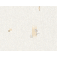 Papier peint intissé picpus gris et beige