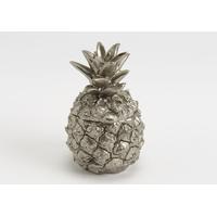 Boite ananas argenté