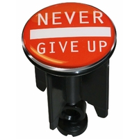 Bonde décorative Never Give Up T.S