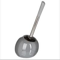 Brosse WC boule grise