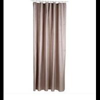 Rideau de douche polyester taupe