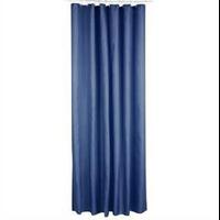 Rideau de douche polyester bleu canard