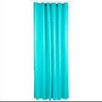 Rideau de douche polyester vert d'eau
