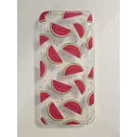 Coque en silicone imprimée Pastèques - iPhone 5/5s/SE