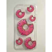 Coque en silicone imprimée Donuts - iPhone 6/6s