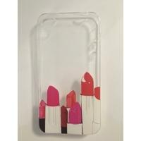 Coque en silicone imprimée rouge à lèvres - iPhone 4/4s