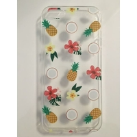 Coque en silicone imprimée Tutti Frutti - iPhone 5/5s/SE