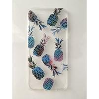 Coque en silicone imprimée ananas - iPhone 6/6s