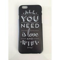 "Coque imprimée ""All You Need Is Love And Wifi"" Mr Wonderful - iPhone 6/6s"