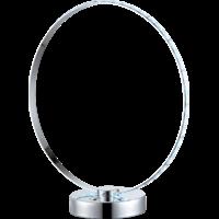 Lampe à poser touch chromé arc en ciel D.30cm