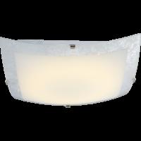 Plafonnier DL CHROME verre 1xLED