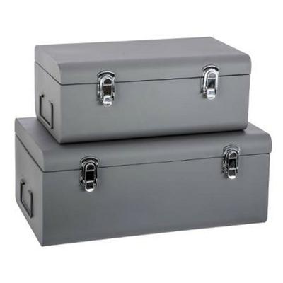 set-de-2-malles-rectangulaires-cantine-gris