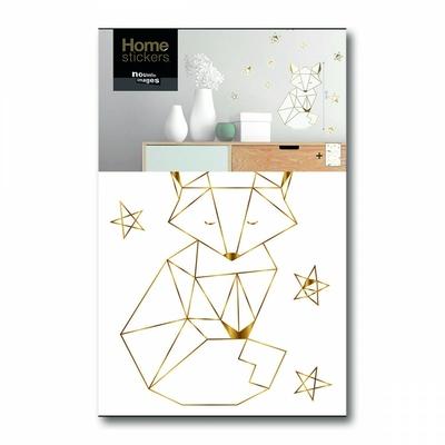 sticker-gold-le-petit-renard-3661928168707_0