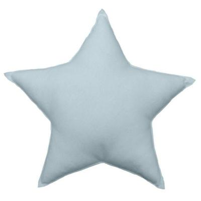 coussin-uni-en-forme-d-etoile-bleu-gris-40-cm