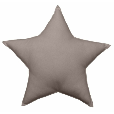 coussin-uni-en-forme-d-etoile-taupe-40-cm